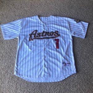 Huston Astros Hall of Famer Craig Biggio